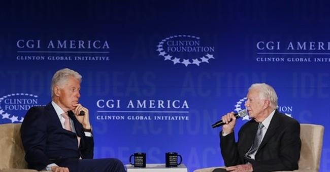 Jimmy Carter, Bill Clinton criticize election rhetoric