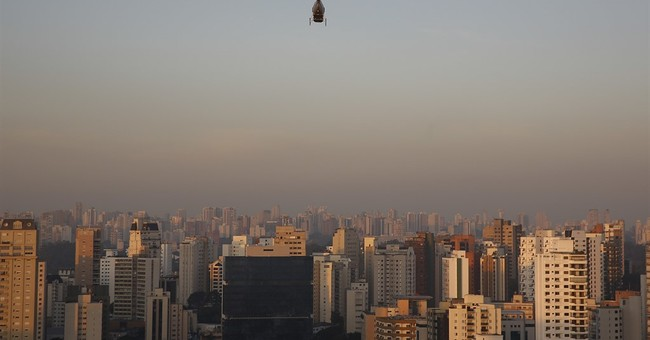 Uber begins helicopter service in Brazil's biggest city