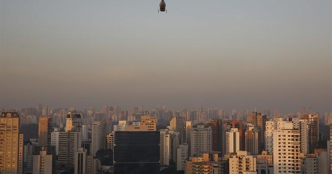 Uber begins helicopter service in Brazil's biggest city