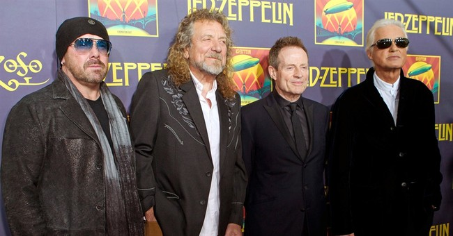 The Latest: Jimmy Page takes stand in Led Zeppelin lawsuit