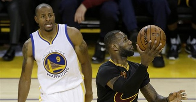 James, Irving each score 41, Cavs stay alive in NBA Finals