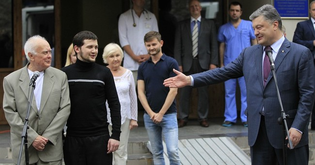 Russia and Ukraine exchange prisoners