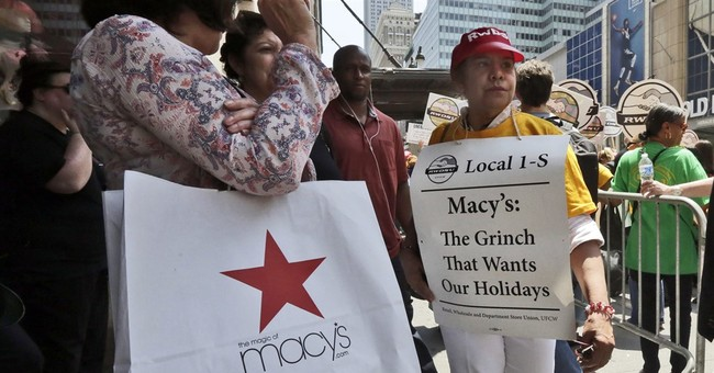 Strike looming at Macy's iconic New York store