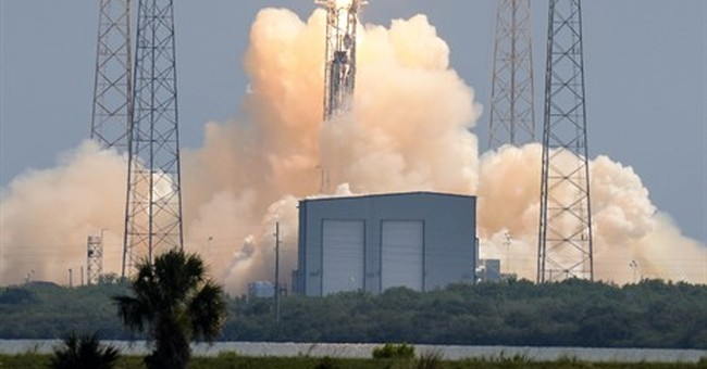 SpaceX rocket crashes in latest attempt at barge landing