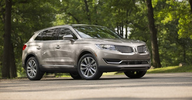 Fact sheet: 2016 Lincoln MKX