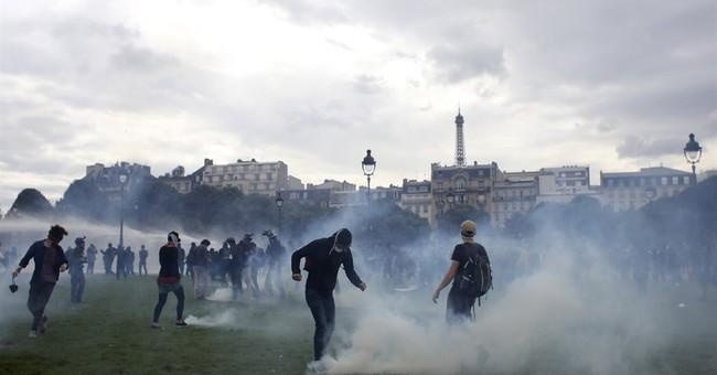 French premier: Children's hospital violence 'intolerable'