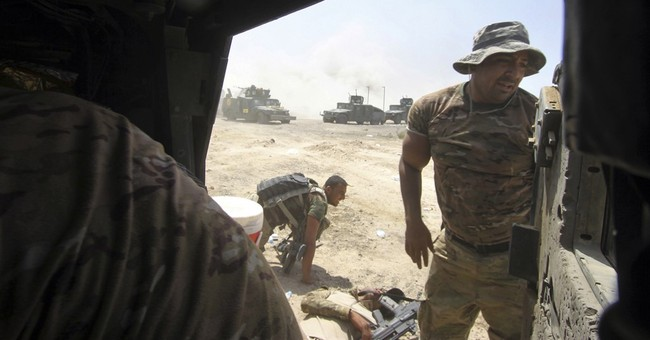 Iraq says senior military commander killed while fighting IS