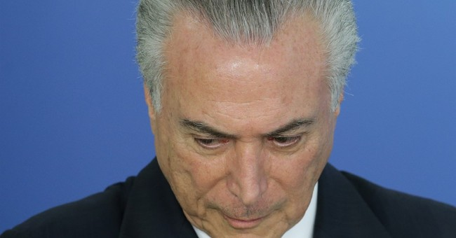 Brazil's interim government loses 3rd minister in month