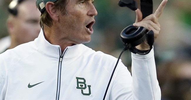 Ex coach Art Briles rips Baylor, claims wrongful termination