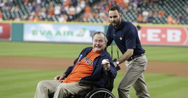 President Bush: 'Being 92 doesn't hurt one bit'