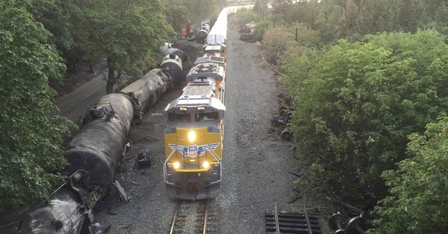 Correction: Oregon Train Derailment story