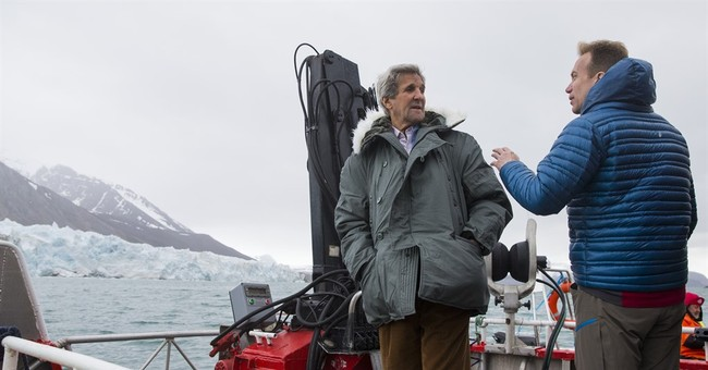Kerry tours Arctic Circle to see climate change impact