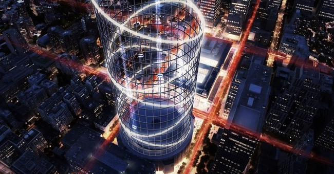 1,200-foot amusement ride proposed for NY's Penn Station