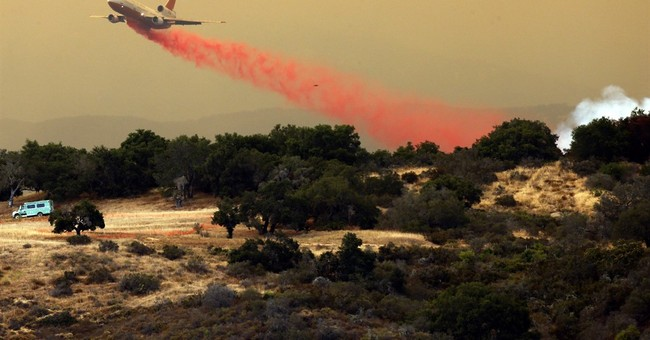 The Latest: California wildfire now 45 percent contained