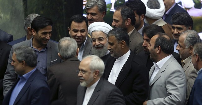 The Latest: Massachusetts man freed from Iran returns home