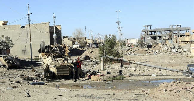 Iraqi city of Ramadi, once home to 500,000, lies in ruins