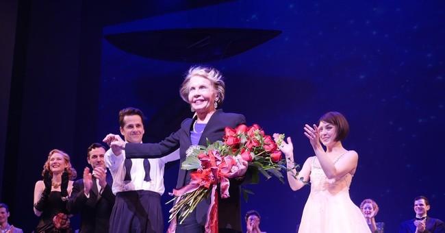'An American in Paris' star Leslie Caron visits Broadway