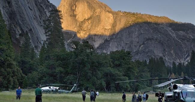 Obama says climate change already damaging national parks