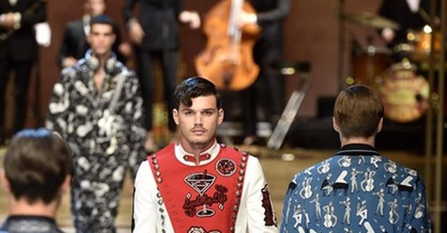 Dolce&Gabbana jazz things up with fashion cacophony