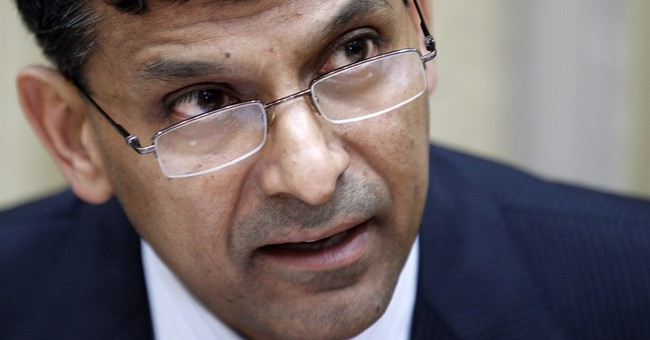 India's central bank governor says he won't seek 2nd term