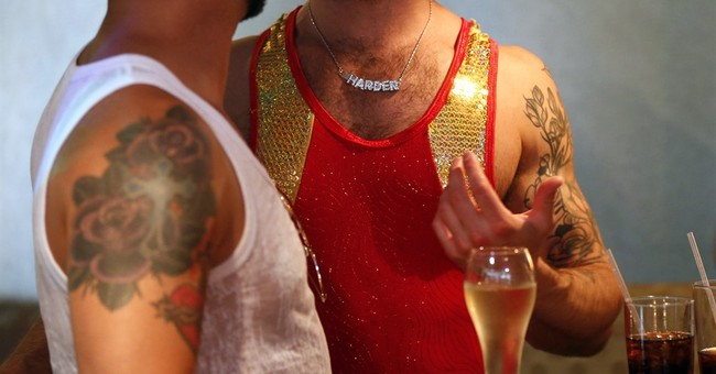 The Latest: Thousands turn out for weekend gay pride events