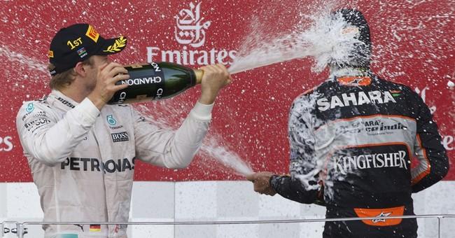 Rosberg wins European GP to extend F1 title lead