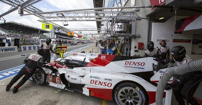 Porsche wins Le Mans in dramatic fashion as Toyota falters