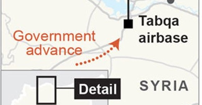 Syria activists say airstrikes on IS-held Raqqa kill 18
