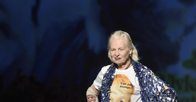Prada treks the globe, Westwood launches Assange appeal