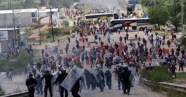 Officials, union trade blame for deadly Mexico clash