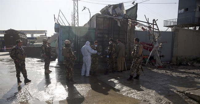 Taliban suicide bombing kills 14 Nepalese guards in Kabul