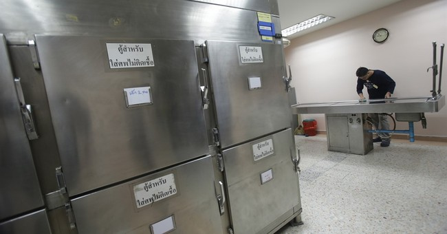 Thai drunken drivers get gory lesson at the morgue
