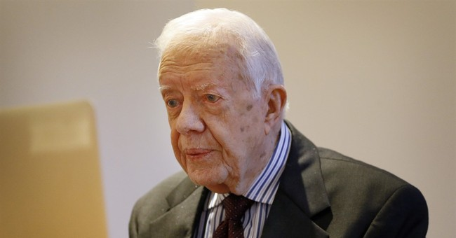 "Jimmy Carter: World at ""turning point,"" must commit to peace"