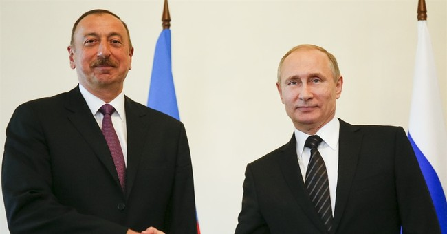 Putin brings together presidents of Azerbaijan and Armenia