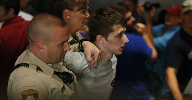 Authorities: UK man arrested at rally planned to kill Trump