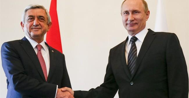 Putin brings together presidents of Azerbaijan and Armenia