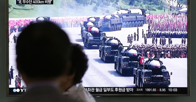 SKorea military: NKorea fires 2 suspected midrange missiles