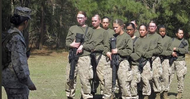 The few, the proud, the fit: Women strive for combat jobs