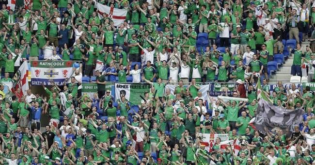 Irish fans win admirers at Euro 2016