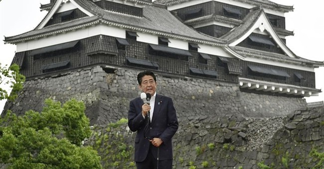Japan election campaign kicks off; Abe pushes economic plan