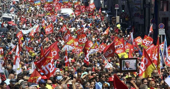 French unions win right to protest despite fears of violence