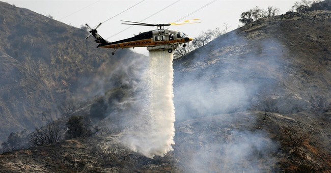 The Latest: Most fire evacuations lifted near Santa Barbara