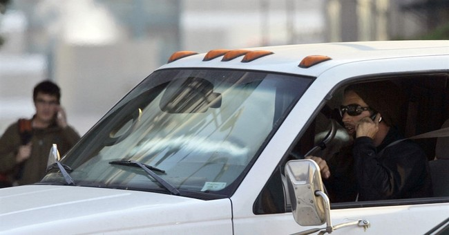 Report: More California drivers spotted using cellphones