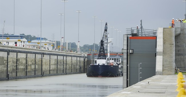 Panama Canal to open amid shipping downturn