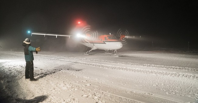 South Pole rescue flight of 2 sick workers arrives in Chile