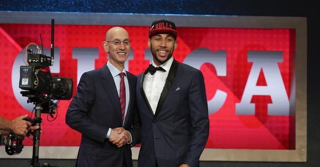 The Latest: Bow ties, international picks dominate NBA draft