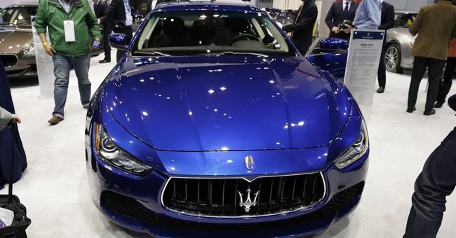 Fiat Chrysler adds Maseratis to transmission recall