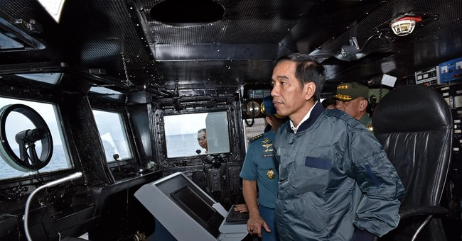 Indonesian president visits Natuna  in South China Sea