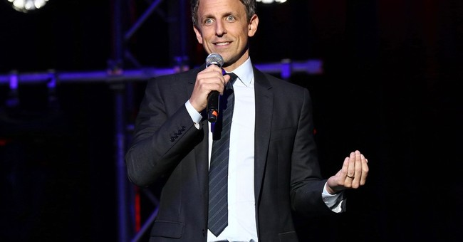 Once again, Seth Meyers goes hard after Donald Trump