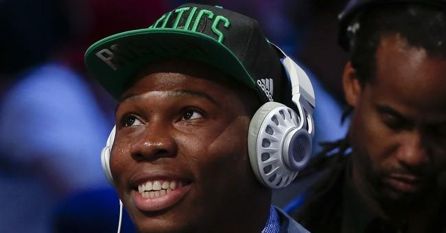 Celtics resist overtures, pick Jaylen Brown with third pick